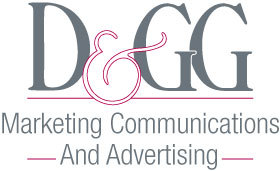 D & GG Marketing Communications and Advertising Logo