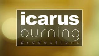 Icarus Burning Productions Logo