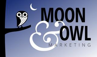 Moon & Owl Marketing Logo