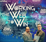 Working the web to win banner   12 25 2013