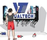 Wall vizualtech logo