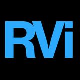 Rvi blue square icon