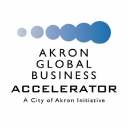 Akron Global Business Accelerator Logo