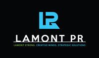 Lamont PR & Creative Logo