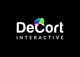 Decort logo %28black bg%29