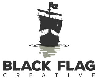 Black Flag Creative Logo