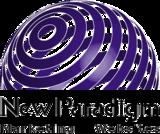 New paradigm logo transparent