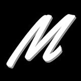 Single m logo large