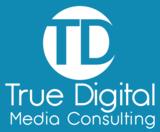 Tdmc logo white   blue bg