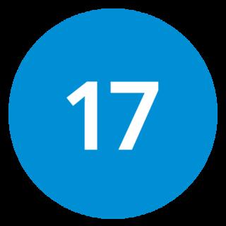 17blue Digital Logo
