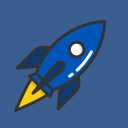 Blue Stripe Creative Logo