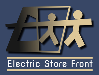 Electric Store Front Web Design and Marketing Services Logo