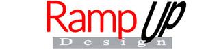 Ramp Up Design Logo