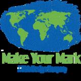 Blue logo preloader