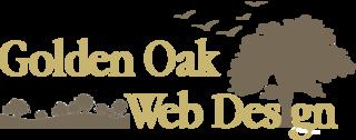 Golden Oak Web Design Logo