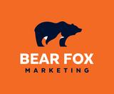 Bear fox final logo orange bg