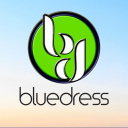 Blue Dress Marketing Logo
