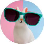 Cool bunny email