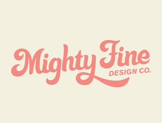 Mighty Fine Design Co. Logo