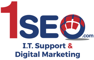 1SEO I.T. Support & Digital Marketing Agency Logo