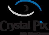 Crystalpix logo color w tag