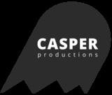 Casper productions ghost logo gray large feb2019