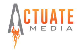 Actuate Media Logo