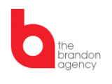 The Brandon Agency  Logo
