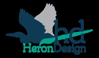 Heron Design Logo
