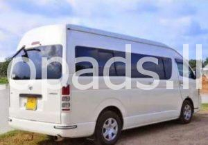 KDH Van for hire And Tour - topads lk