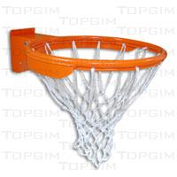Aro de basquetebol flexível em aço maciço de 16mm