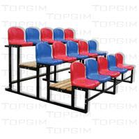 Bancada amovível com cadeiras - 15 lugares;