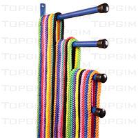 Suporte de parede para arcos e cordas