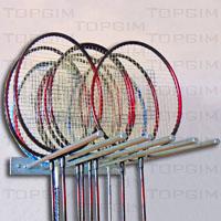 Suporte de parede para raquetes