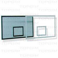 Tabela de basquetebol em vidro acrílico