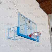 Armação metálica para tabela de basquetebol