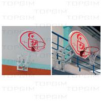 Sistema de basquetebol regulável