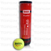 """Bola de ténis de campo """"Teloon Regular"""" Aprovada ITF"""