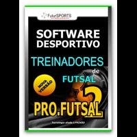 Pro-Futsal 2 - Software para treinadores de futsal.