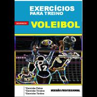 Exercicios para treino de Voleibol.