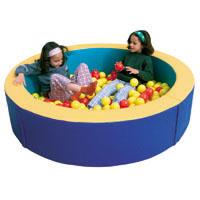Piscina de bolas circular