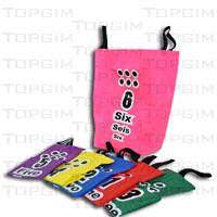 Conjunto de 6 sacos para corrida de sacos