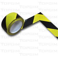 Rolo de fita adesiva de 2 cores para marcação de pavimentos