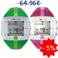 Monitor de frequência cardíaca Polar FT4F