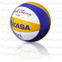 Bola de Voleibol Praia Mikasa VLS300 – Topgim 991b9c04a1814