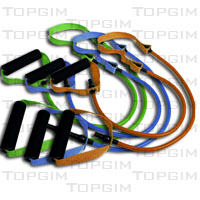 Elástico com pegas e cinta central - STRAP TUBE