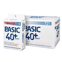 Bolas para ténis de mesa Tibhar Basic 40+ SYNTT NG