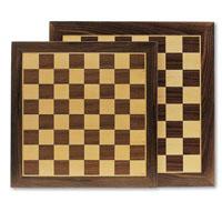 Tabuleiro para xadrez em madeira com 40x40cm