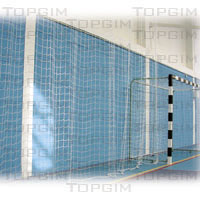 Rede para protecção de espaços desportivos