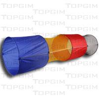 Túnel circular em nylon com 240x60cm